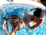 Vidéo porno mobile : Aquatic and terrestrial pleasure